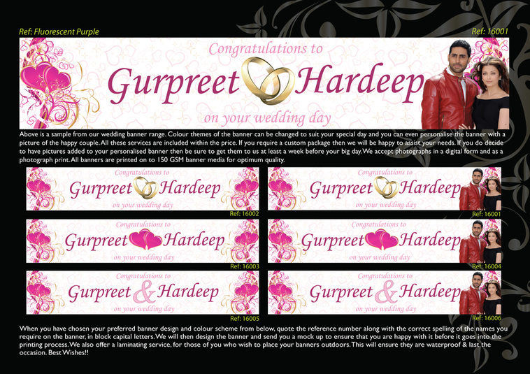 desi wedding banner